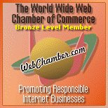 Proud member of WebChamber.com - The World Wide Web Chamber of Commerce. Click to verify membership.