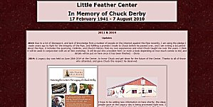 link to little feather center in Pipestone, Minnesota