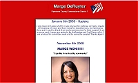link to Marge DeRuyter for Pipestone Country Commissioner site
