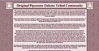link to the Dakota People of Pipestone