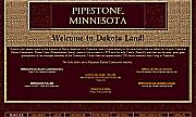 links to Pipestone Minnesota